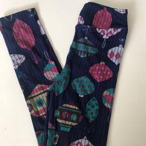 Christmas Leggings! New! Girls size L/XL!!